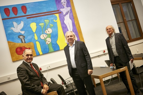 Vernissage Kunst im Parlament 2020