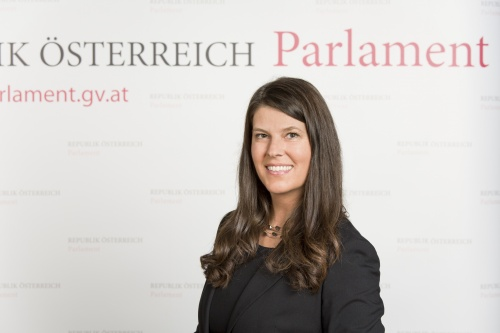 Martina Schenk - Nationalratsabgeordnete
