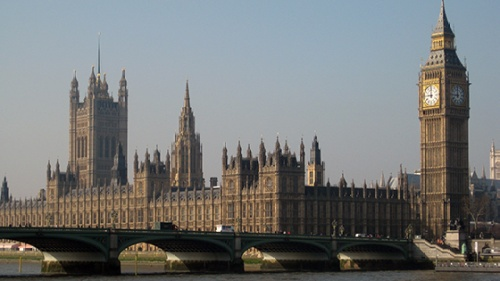 Englisches Parlament in London