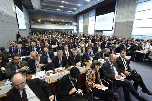 OSZE-PV – 16. Wintertagung - Joint Session of the three General Committees