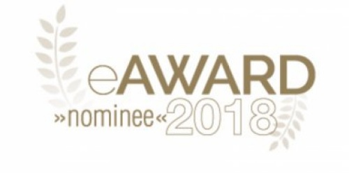Logo des Nominee eAward 2018
