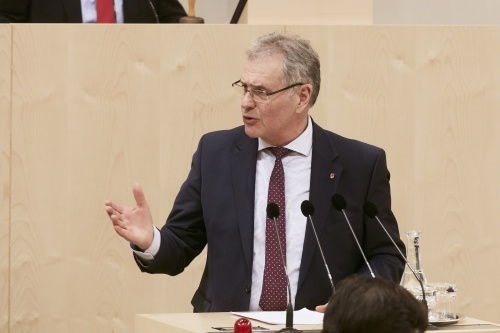 Bundesrat Edgar Mayer (V)