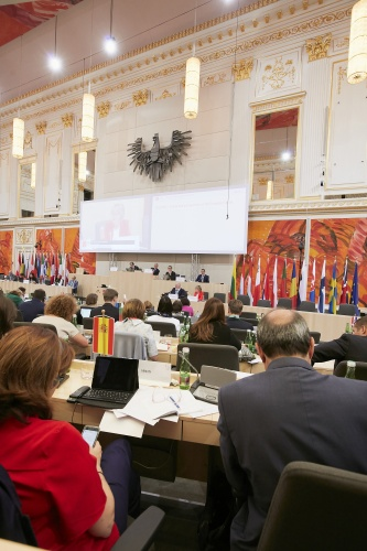 Treffen der COSAC-Vorsitzenden / Meeting of the Chairpersons of COSAC