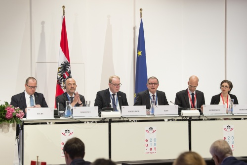 Interparlamentarische Konferenz über Stabilität, wirtschaftspolitische Koordinierung und Steuerung in der EU / Interparliamentary Conference on Stability, Economic Coordination and Governance in the European Union (SECG) 17 - 18 September 2018