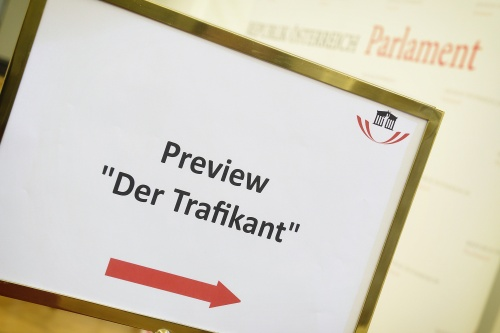 Preview des Kinofilms 'Der Trafikant'