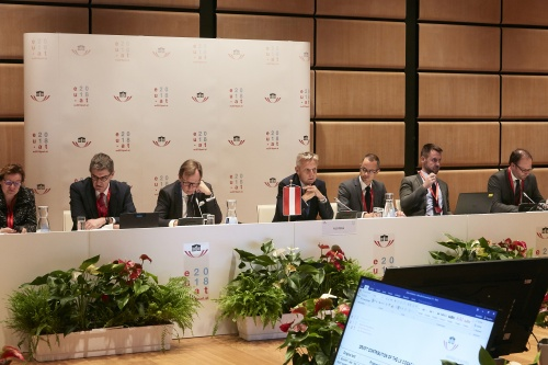 LX COSAC- Meeting of the Presidential Troika