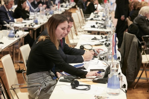 Meeting of the COSAC Chairpersons - Voting