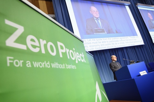 Zero Project Conference - Keynote Nationalratspräsident Wolfgang Sobotka