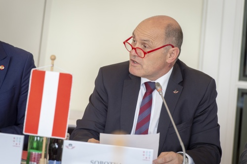 President of the Austrian National Council Wolfgang Sobotka