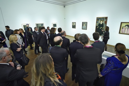 Tour through the exibition of the Leopold Museum