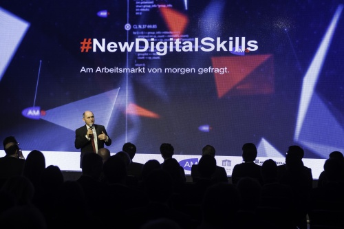 "Präsentation der AMS-Initiative ""New Digital Skills"""