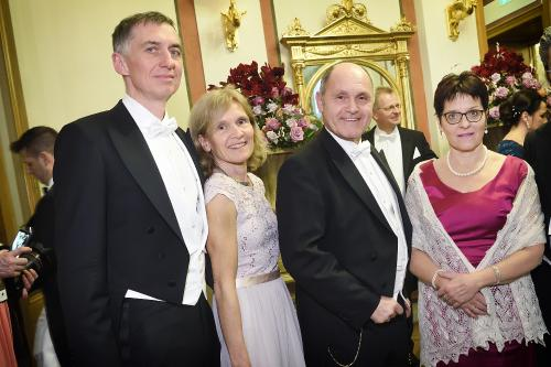Philharmonikerball - Internationale Gespräche
