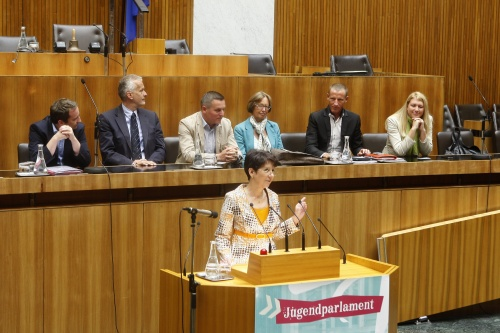 Jugendparlament 2011