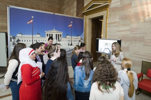 Girls Day 2013 im Parlament