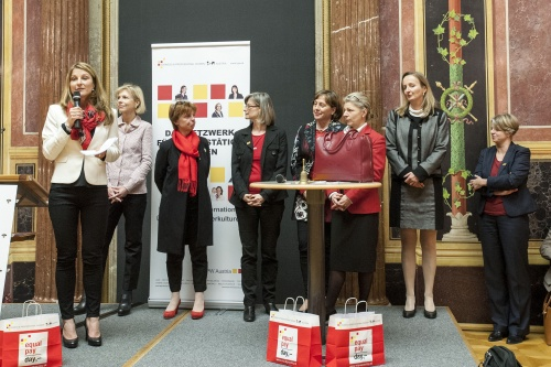 Diskussionsveranstaltung 'Equal Pay is more than Equal Salary'