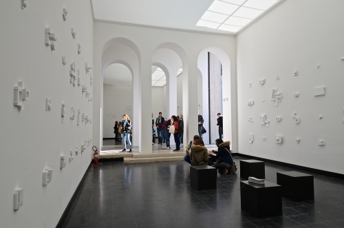 Austrian Pavilion at the 14th International Architecture Exhibition – la Biennale di Venezia. Nationalratspräsidentin Bures besucht Architektur-Biennale in Venedig