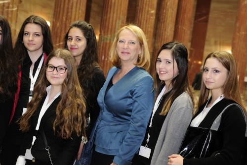 Girls Day 2015 im Parlament