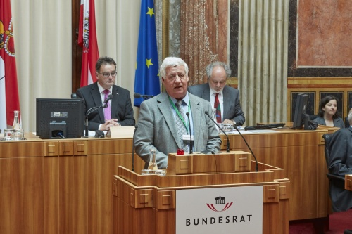 Wortmeldung im Plenum