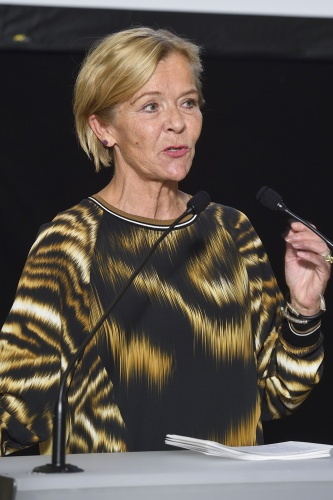 Executive Director Nobel Peace Center Liv Tørres am Wort