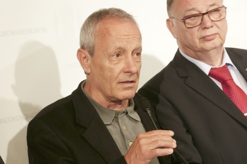 Nationalratsabgeordneter Peter Pilz (G) AM wORT