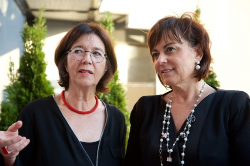 Christine Muttonen, President of the OSCE PA, Ms. Petra Oberrauner, Deputy Mayor of the City of Villach