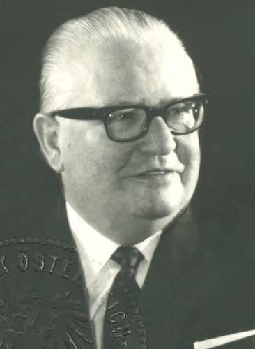 Portrait von DDr. Bruno Pittermann